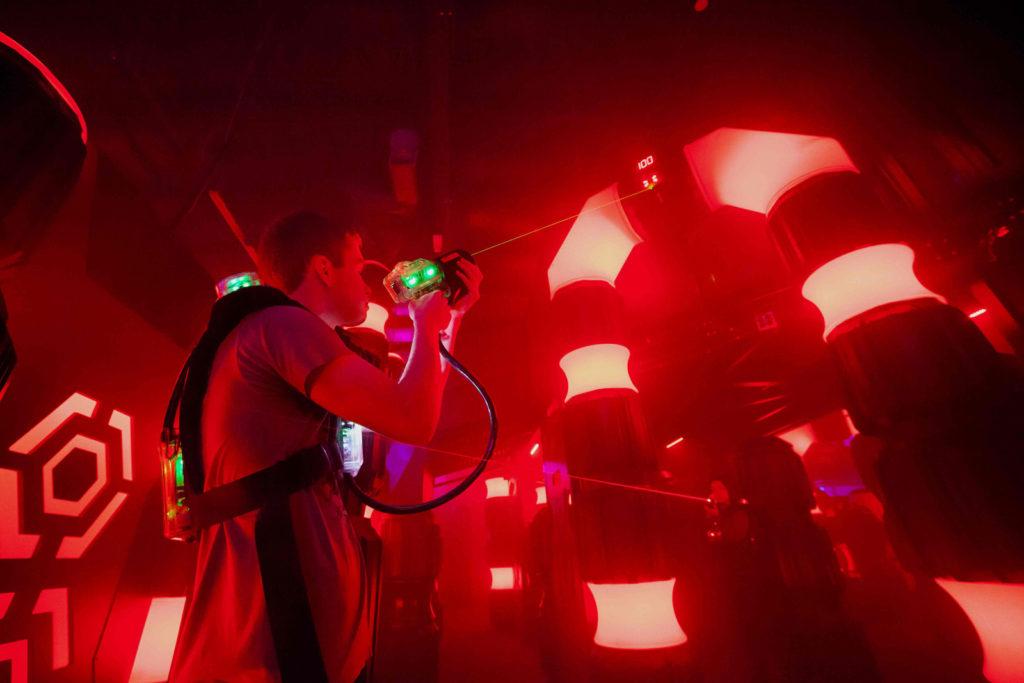 Lasertron-laser-tag